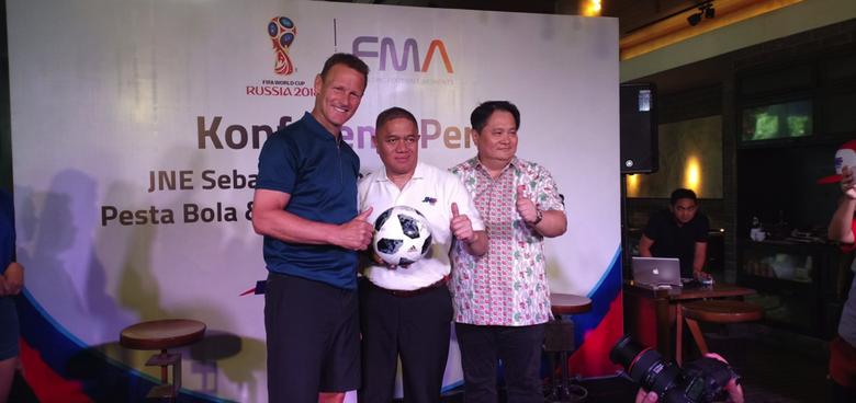 JNE Menjadi Partner Resmi FMA Piala Dunia 2018