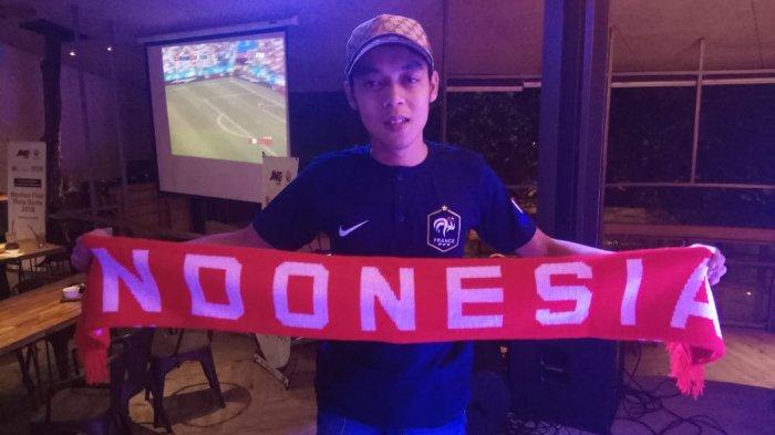Fazri Ashari Salah Satu Pemenang Nonton Piala Dunia Langsung dari JNE